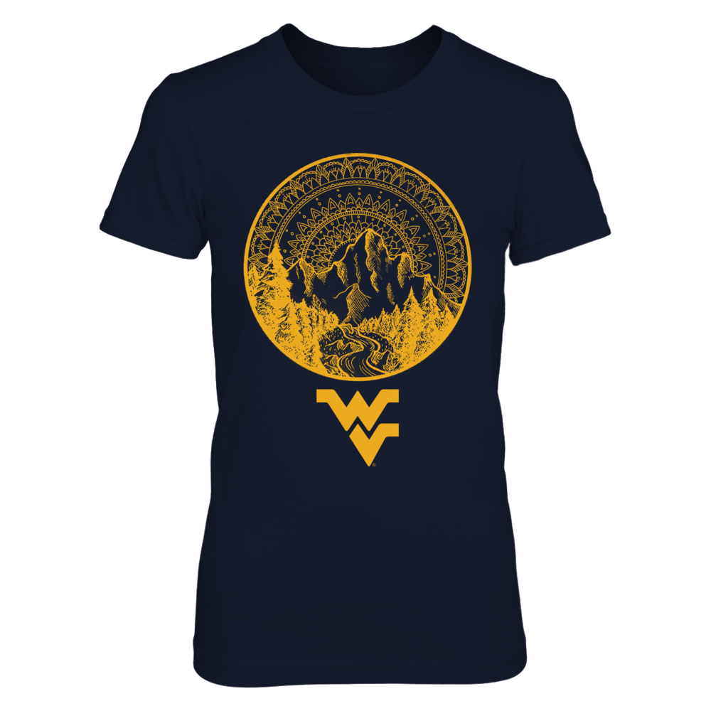 West Virginia Mountaineers - Mandala Mountain Front picture
