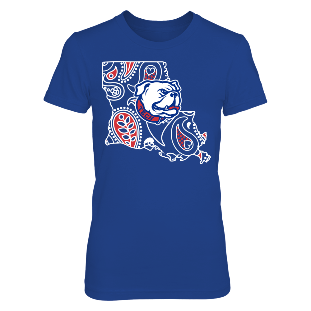 Louisiana Tech Bulldogs - Paisley State Front picture