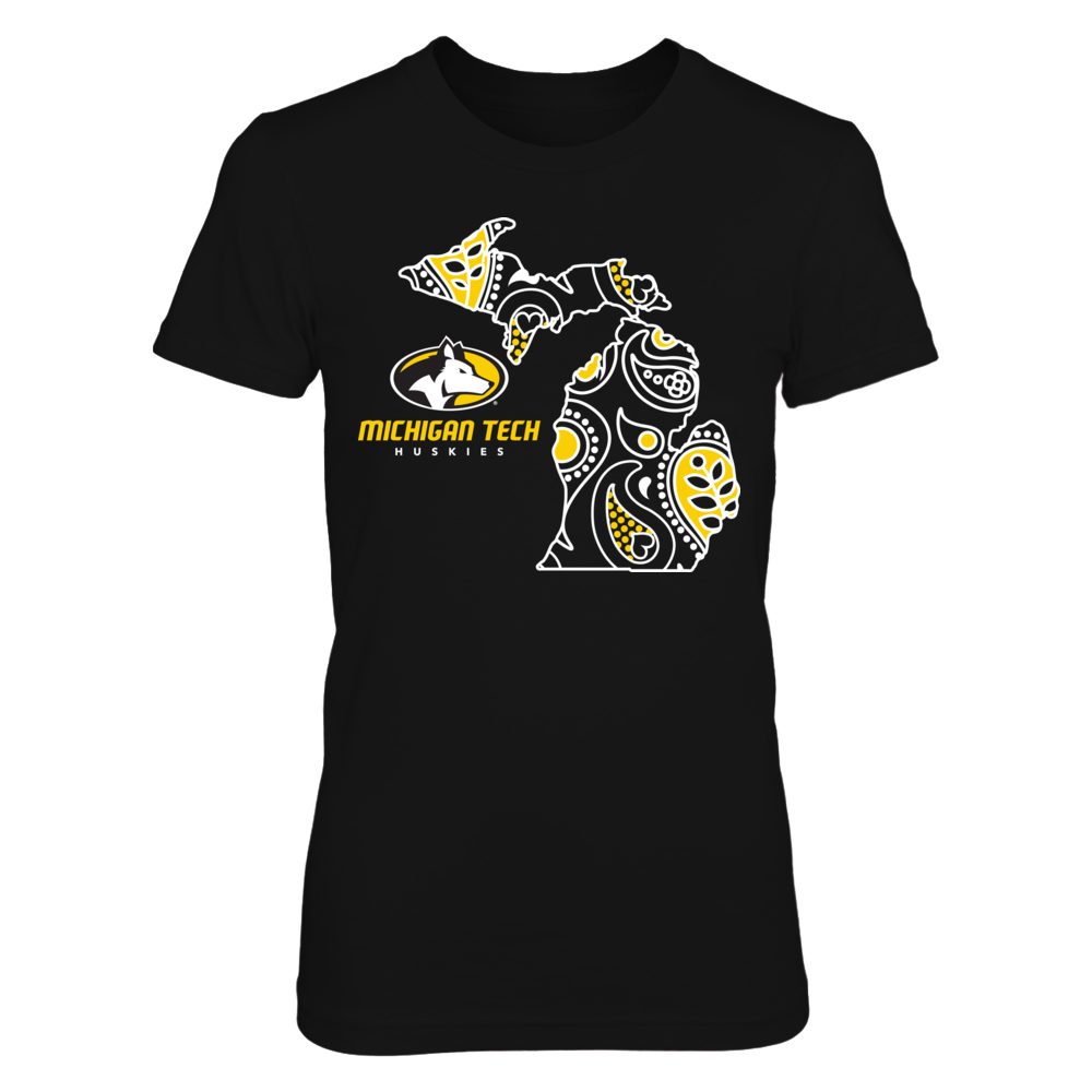 Michigan Tech Huskies - Paisley State Front picture