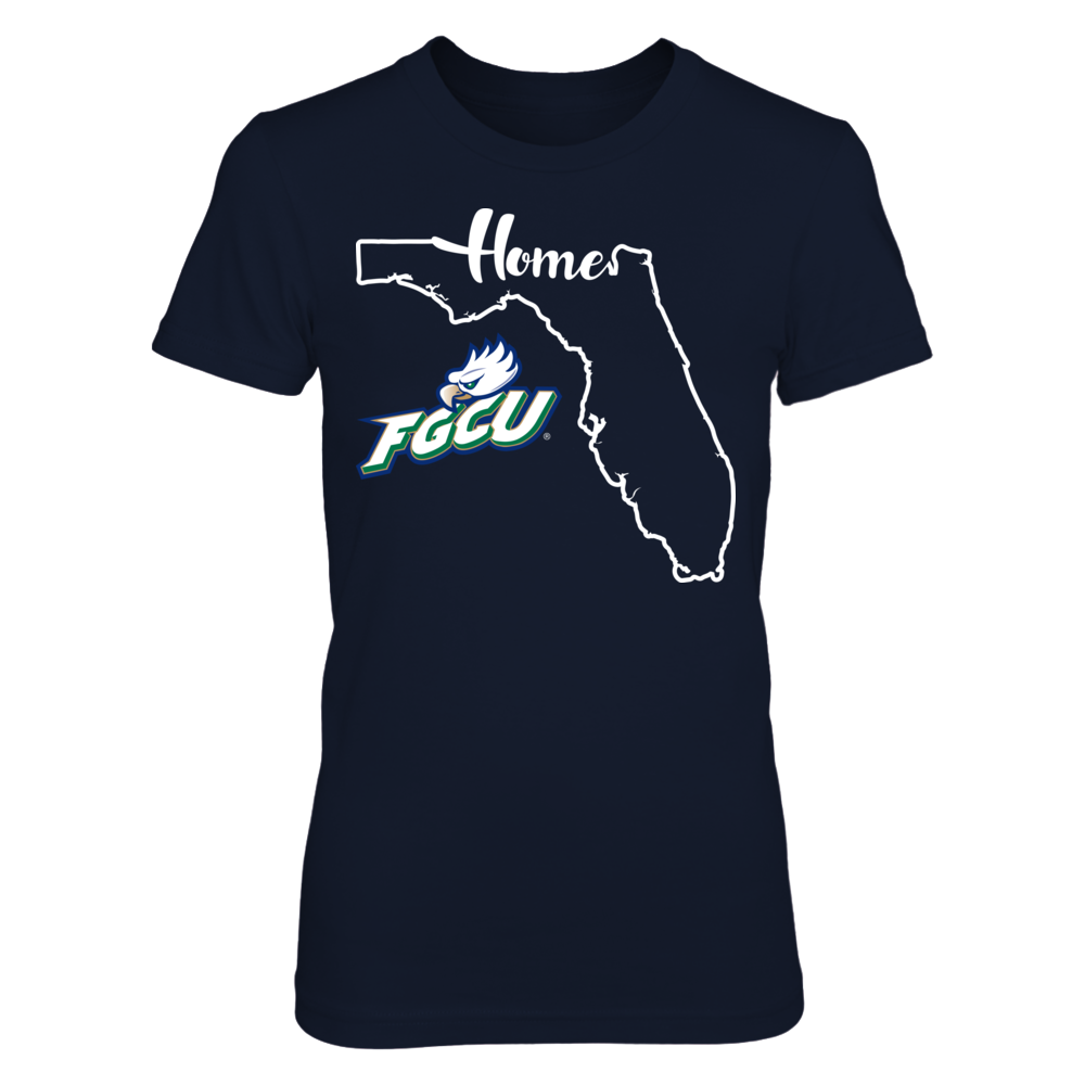 Florida Gulf Coast Eagles - State Outline Front picture