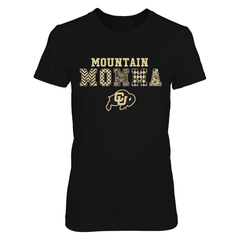 Colorado Buffaloes - Patterned Mountain Momma Front picture
