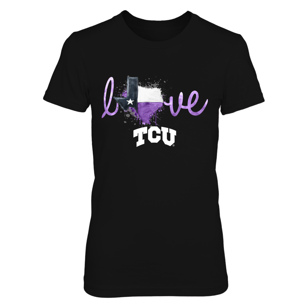 TCU Horned Frogs - Color Drop State Love Front picture