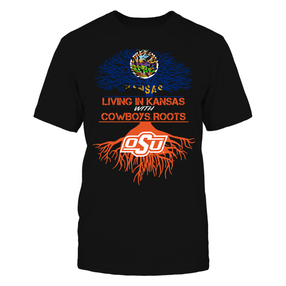 Oklahoma State Cowboys - Living Roots Kansas Front picture