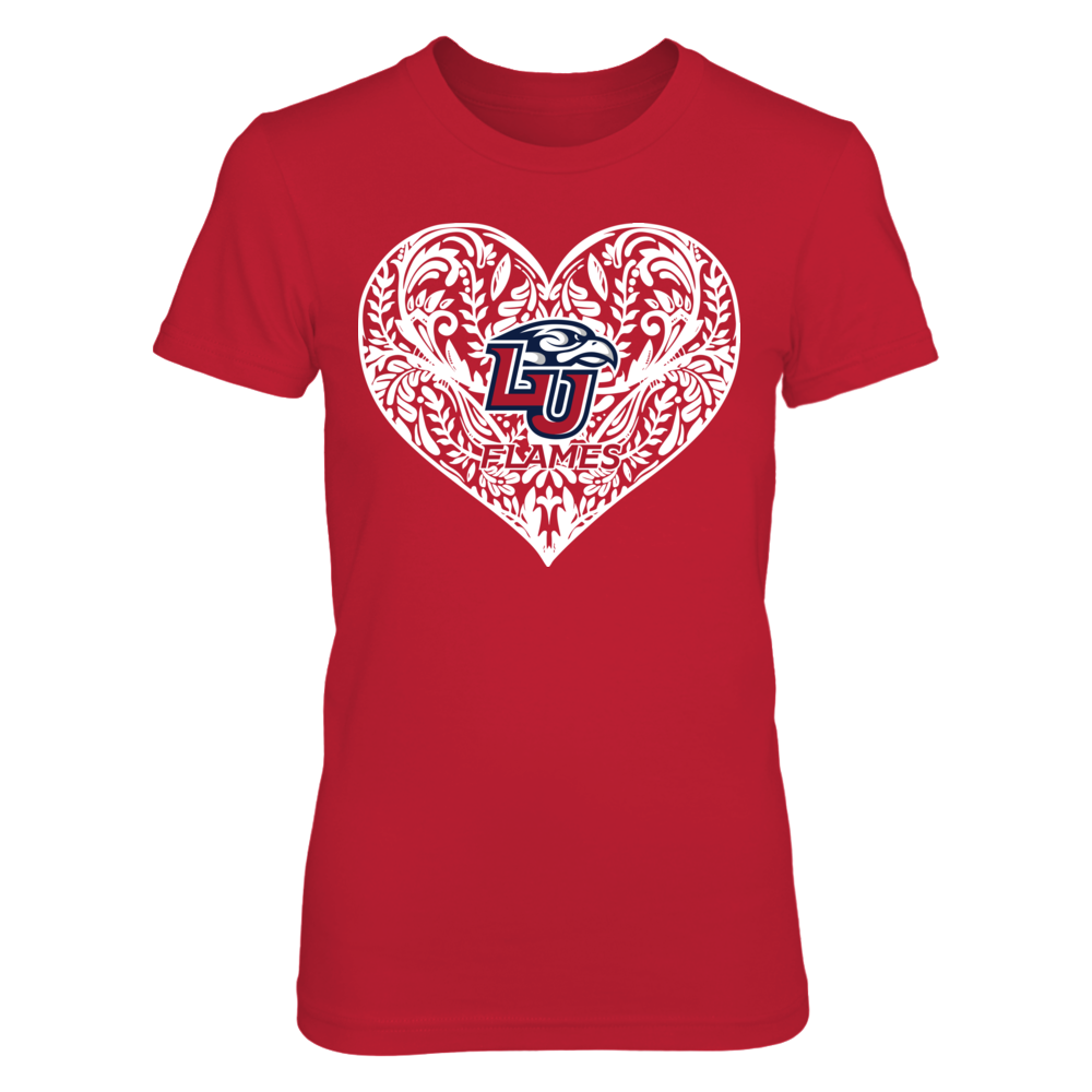Liberty Flames - Pattern Heart Front picture