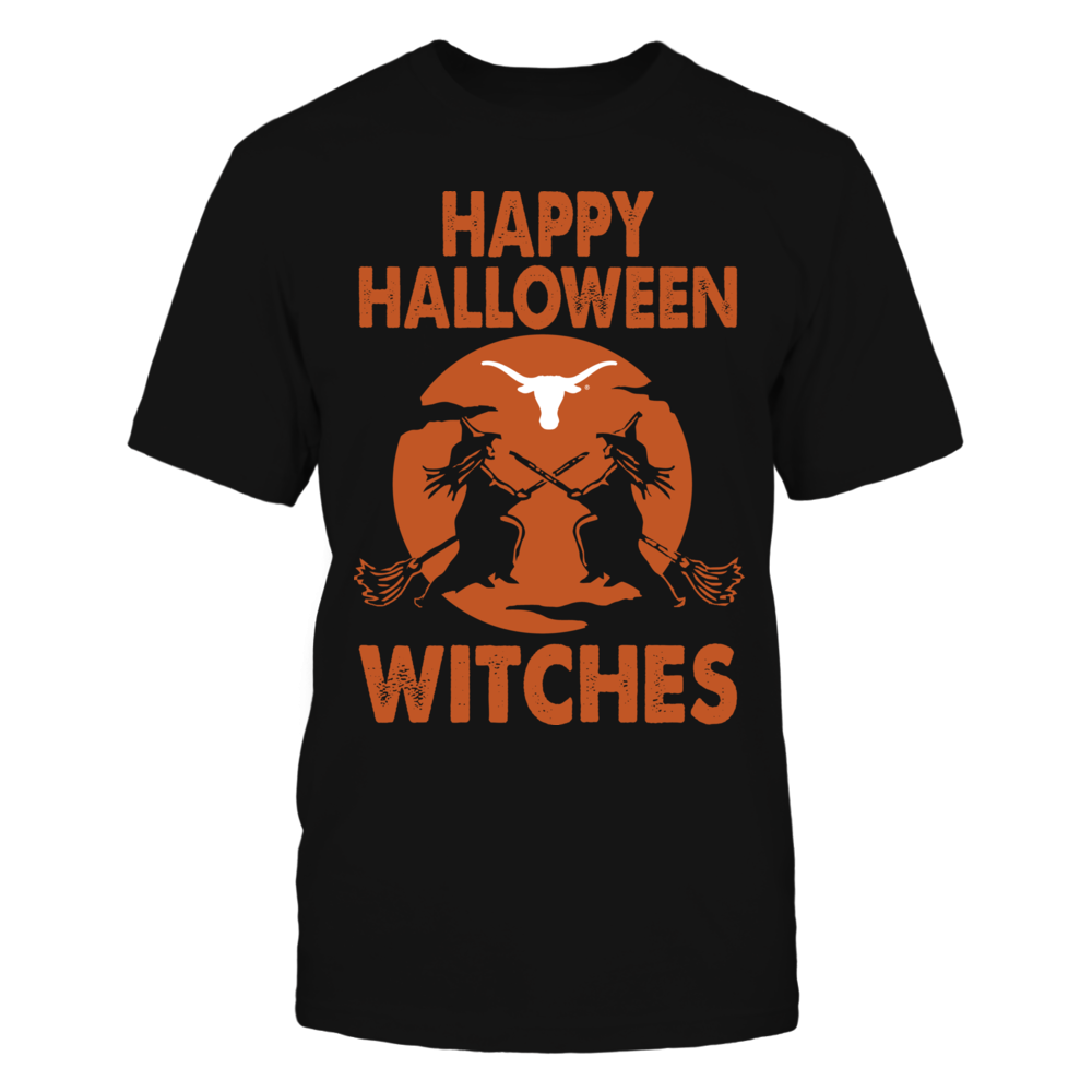 Texas Longhorns - Happy Halloween Witches Front picture