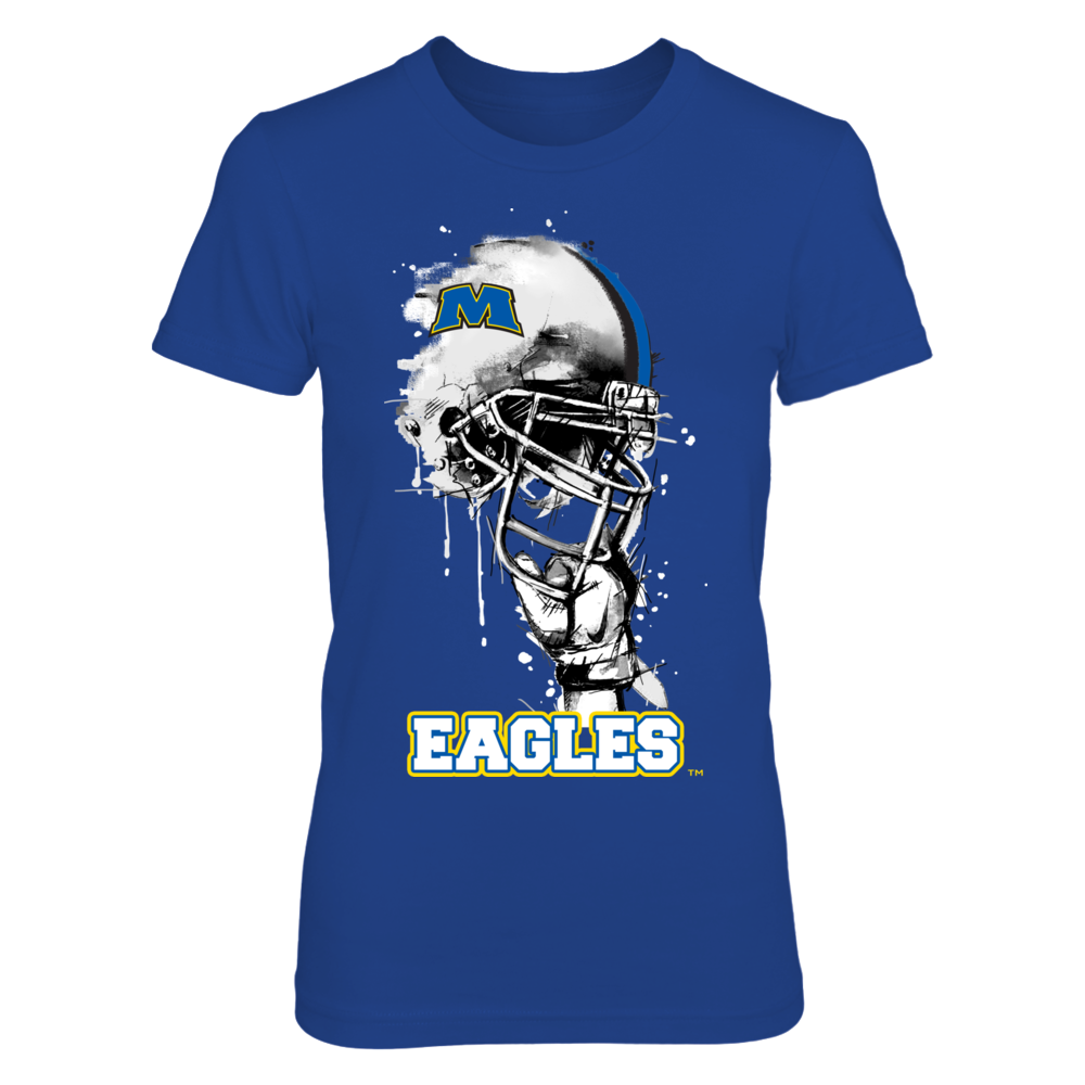 Morehead State Eagles - Rising Helmet Front picture