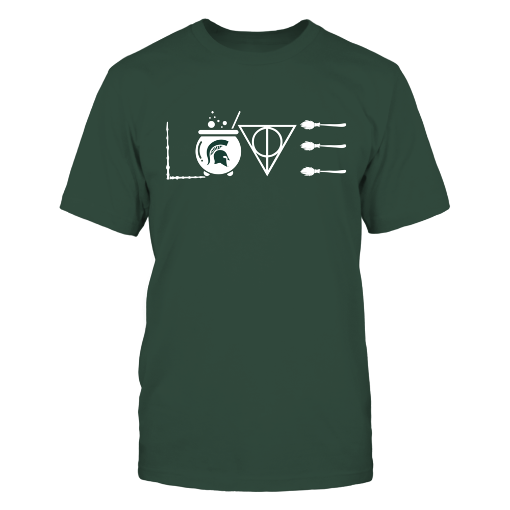 Michigan State Spartans - Wizard Love Front picture