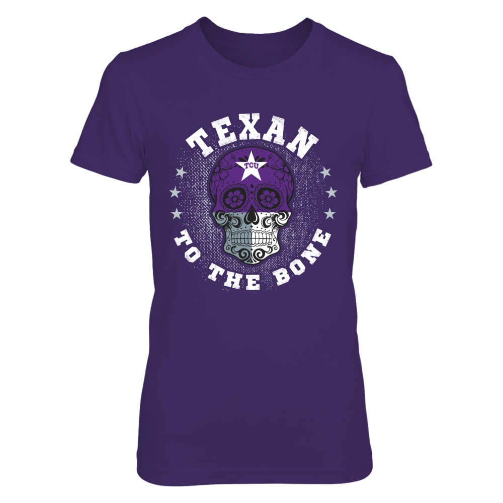 TCU Horned Frogs - To The Bone - State Flag - TCU Front picture