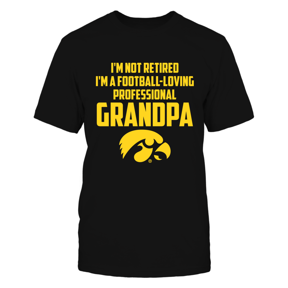 Iowa Hawkeyes - I'm Not Retired Front picture