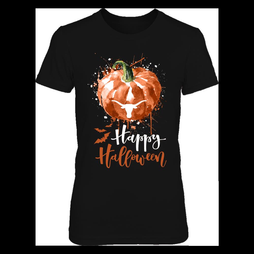 Texas Longhorns - Halloween - Color Drop Pumpkin Front picture