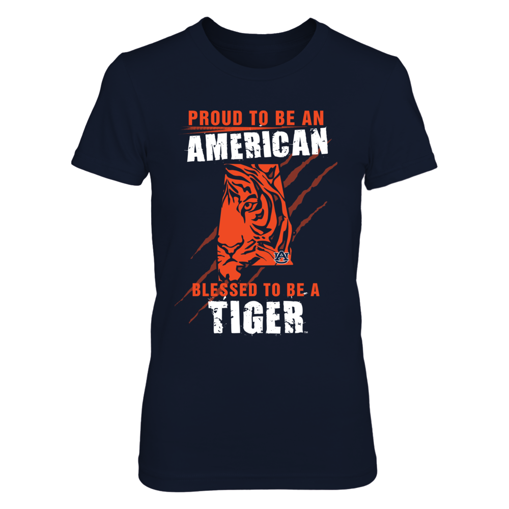 Auburn Tigers - Proud To Be An American - Version 2 Front picture