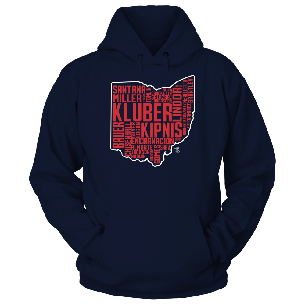 Corey Kluber - State Outline Front picture