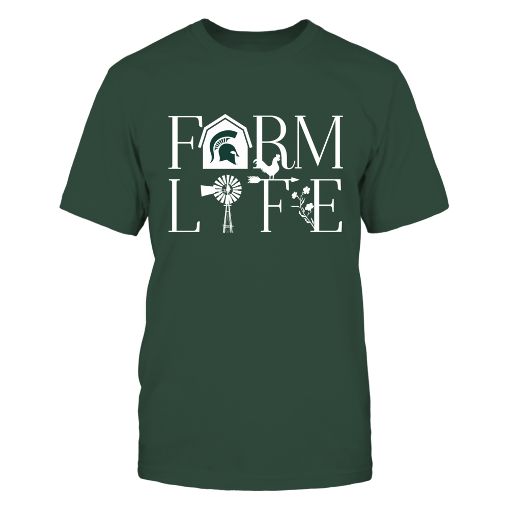 Michigan State Spartans - Farmer - Farm Life Front picture