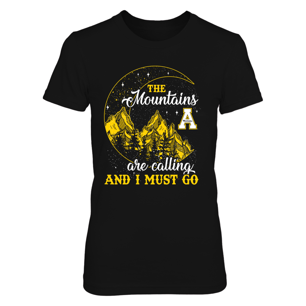 Appalachian State Mountaineers - Mountain Moon - The Mountains Are Calling - Relaunch - IF13-IC13-DS33 Front picture