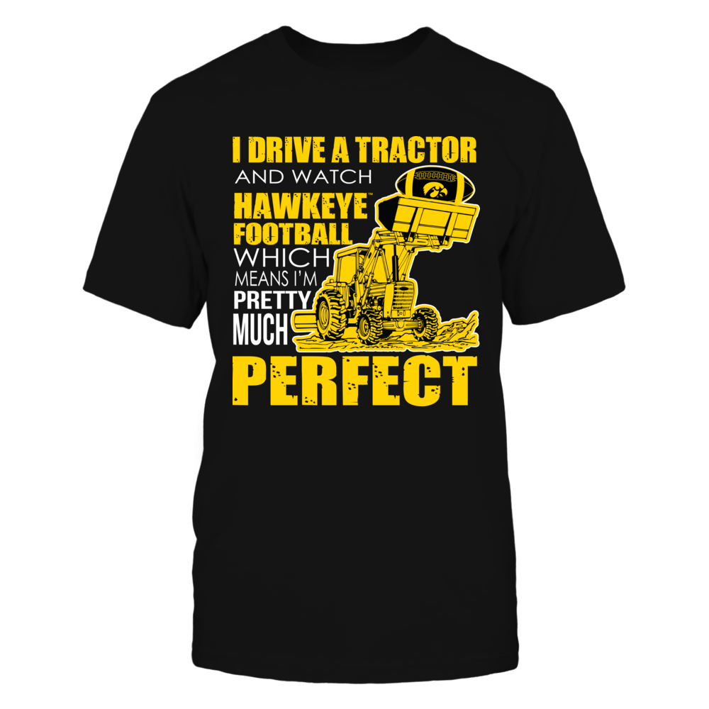 Iowa Hawkeyes - Perfect Farmer Front picture