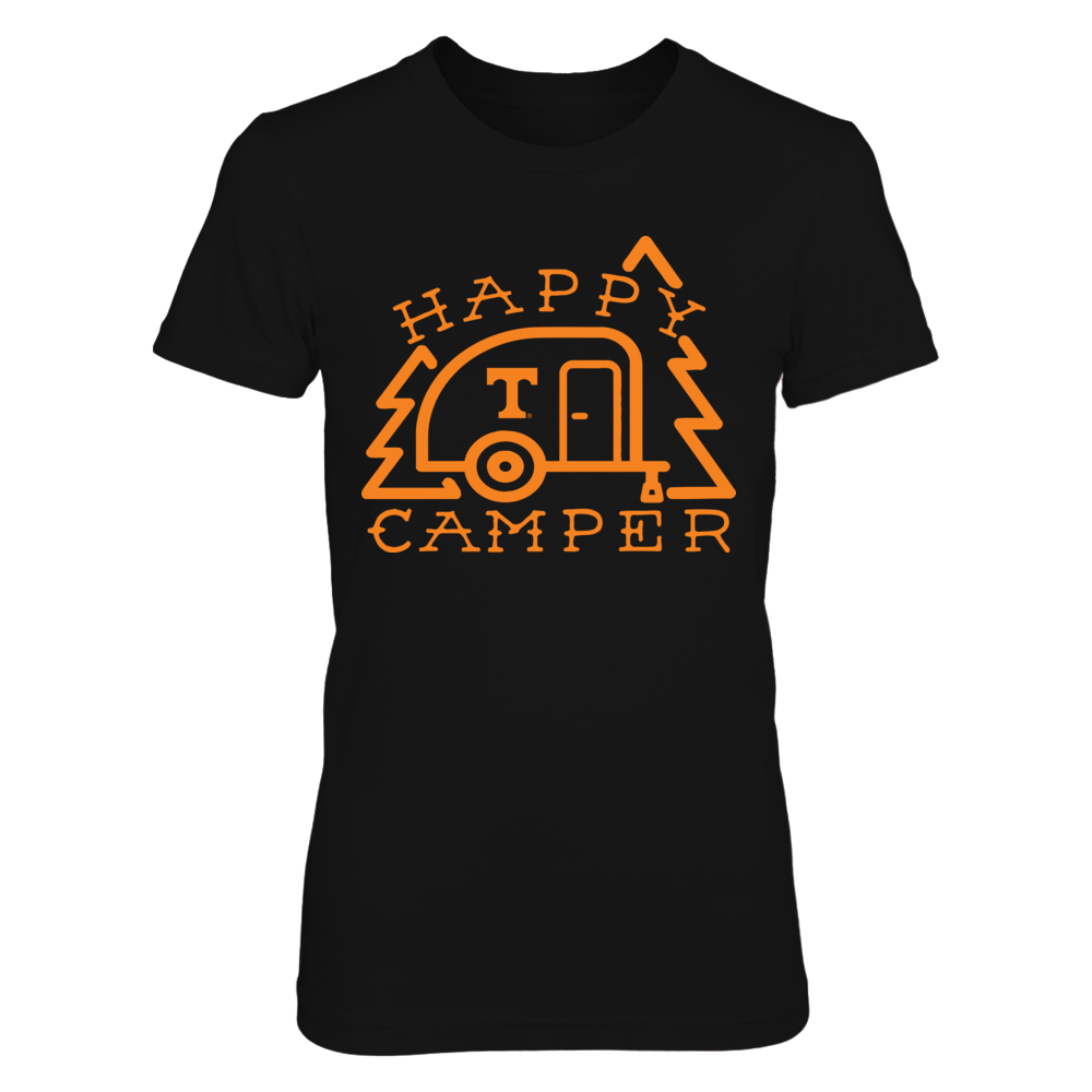 Tennessee Volunteers - Camping - Cute Happy Camper Front picture