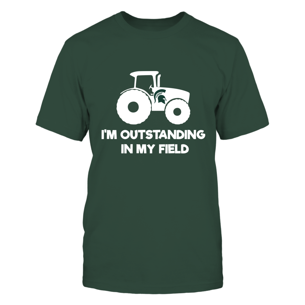 Michigan State Spartans - Farmer - Out Standing In My Field Front picture