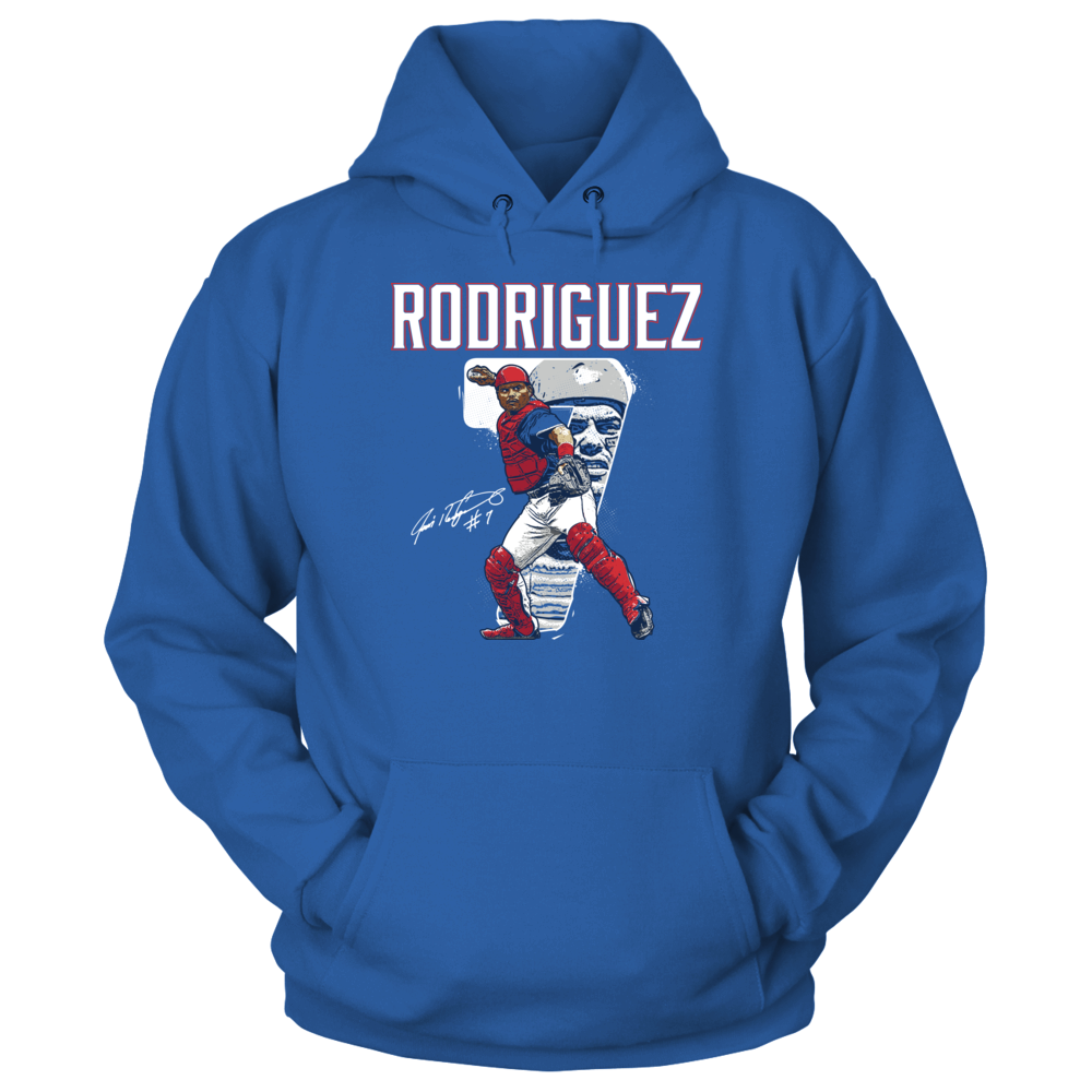 Pudge Rodriguez - Number Portrait Front picture
