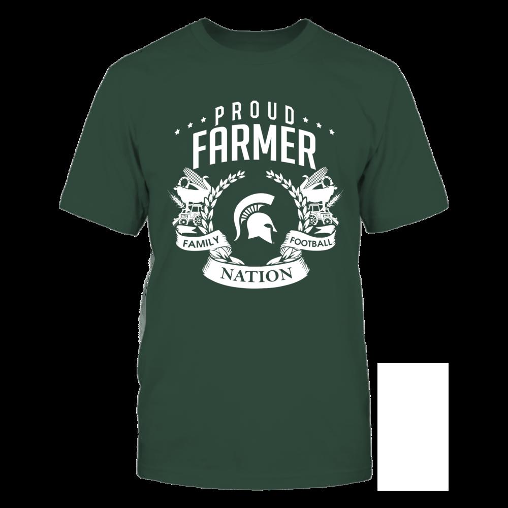Michigan State Spartans - Farmer - Proud Farmer Front picture