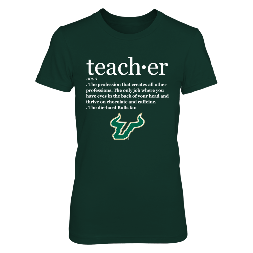 South Florida Bulls - Teacher Definition Front picture
