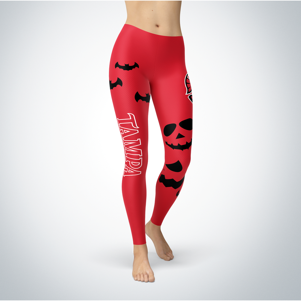 Halloween Design - Tampa Spartans - Leggings Front picture