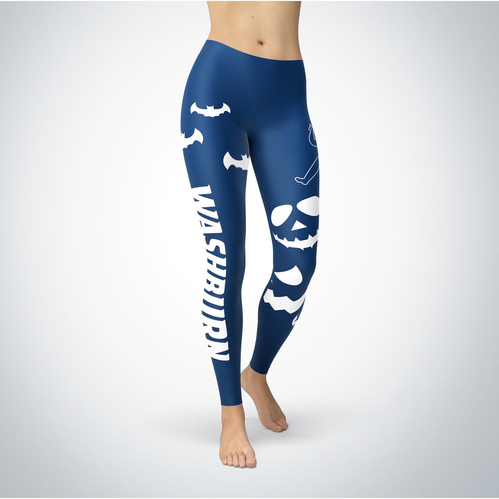 Halloween Design - Washburn Ichabods - Leggings Front picture