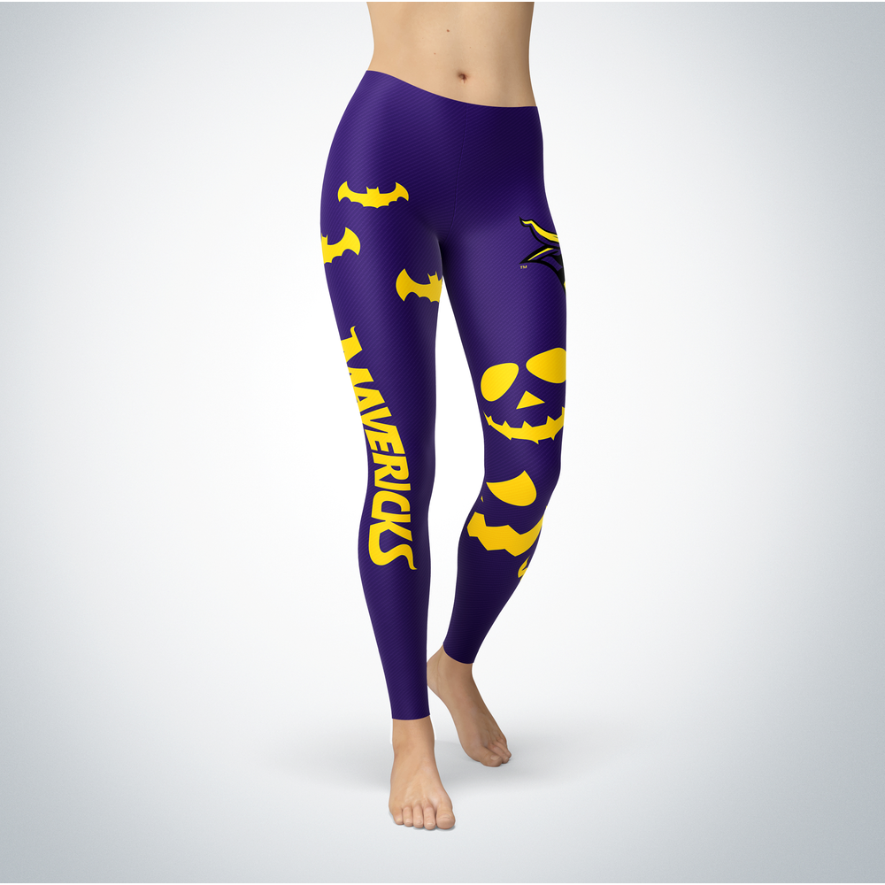 Halloween Design - Minnesota State Mavericks - Leggings Front picture
