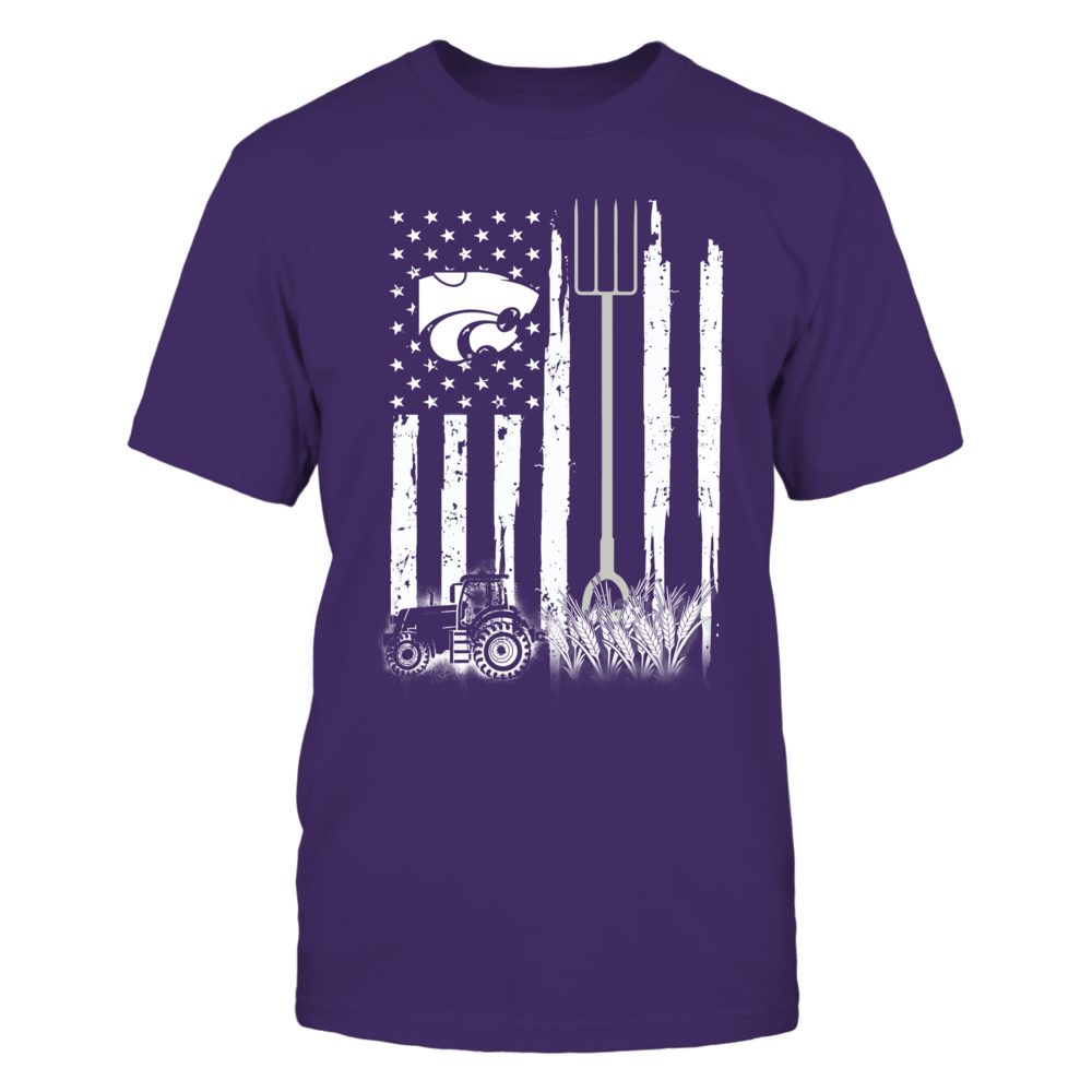 Kansas State Wildcats - Farmer - Farmer Flag Front picture