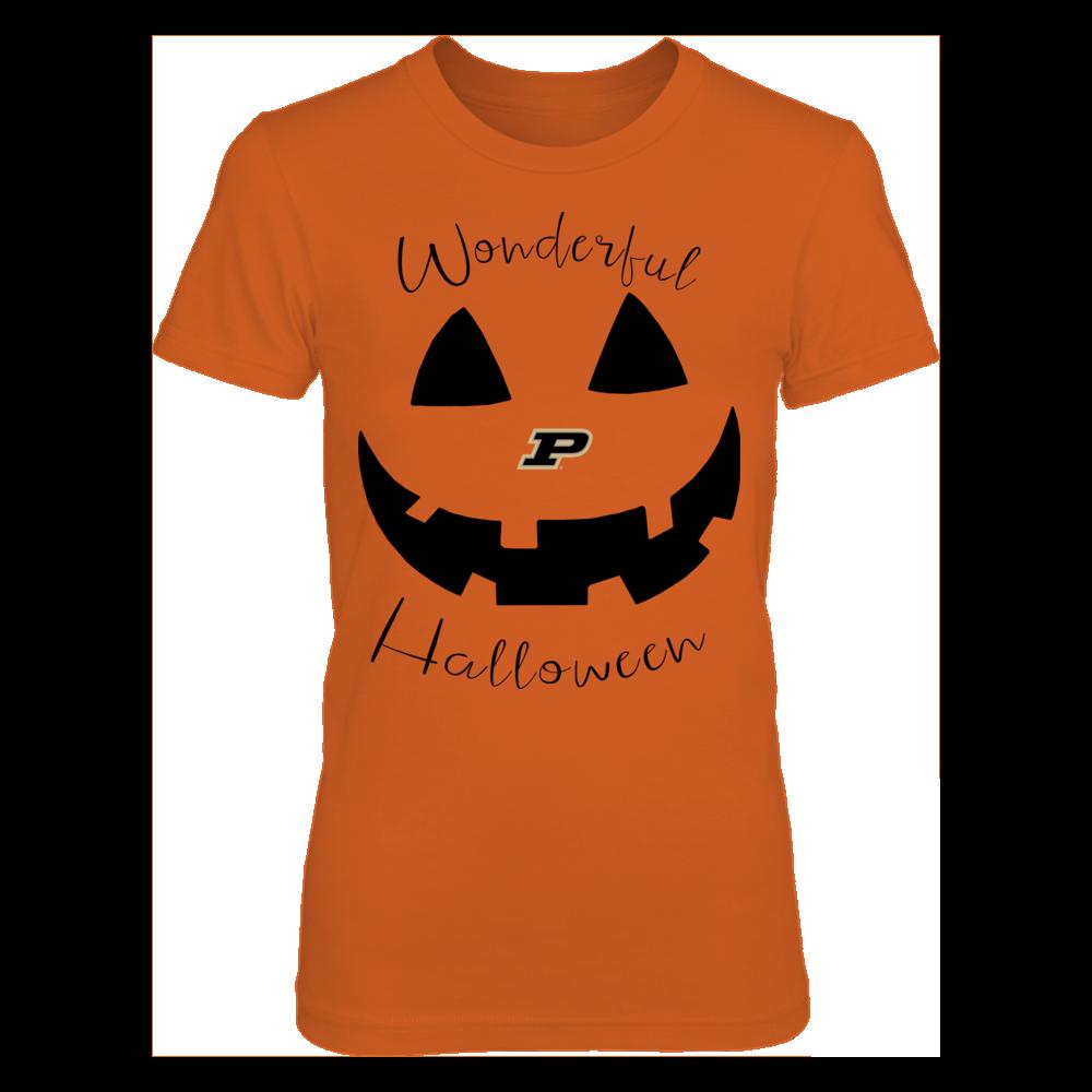 Purdue Boilermakers - Pumpkin Smile Front picture