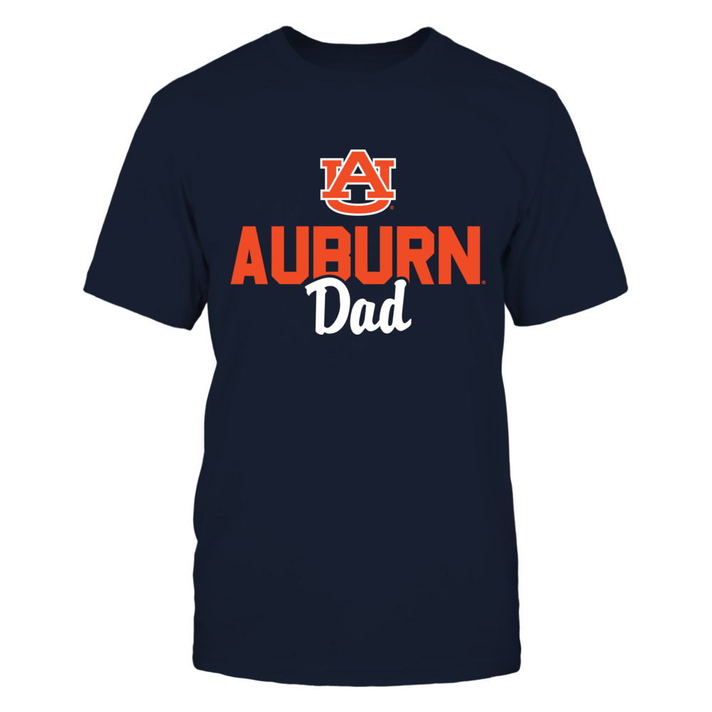 Auburn Tigers Dad T-Shirt T-Shirt   Tank Front picture