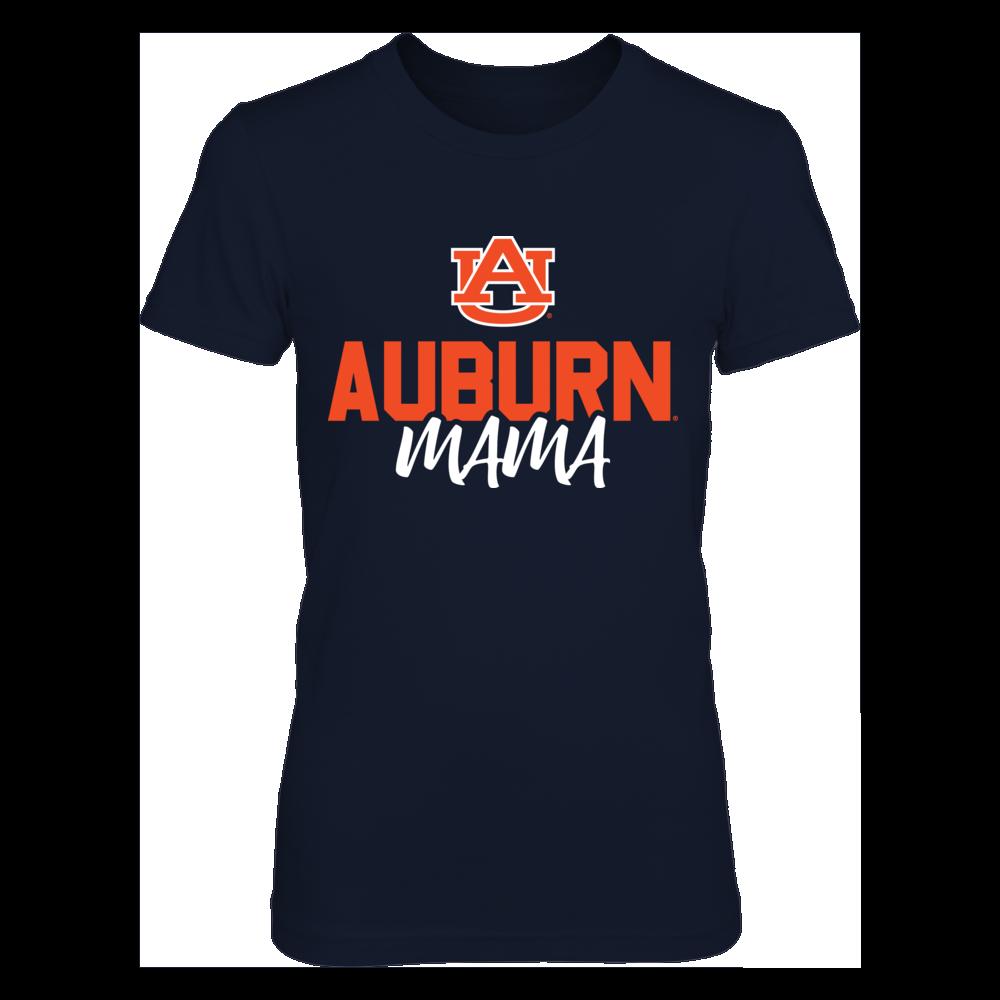 Auburn Tigers Mama T-Shirt T-Shirt | Tank Front picture