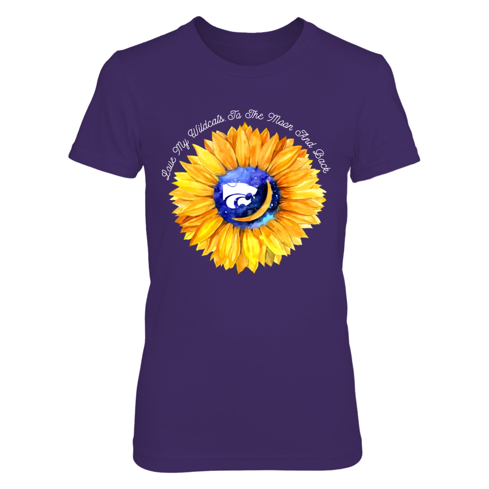 Kansas State Wildcats - Sunflower - Love You To The Moon And Back Front picture