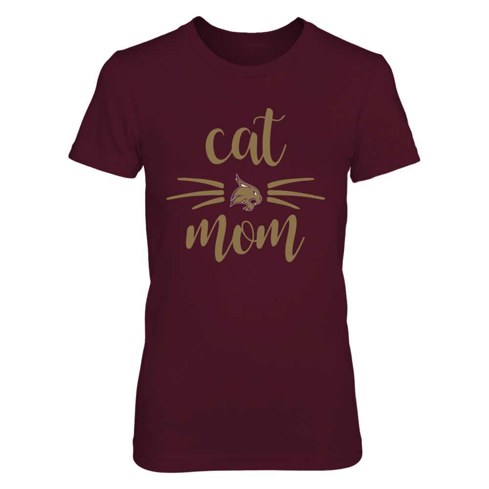 Texas State Bobcats - Cat Mom Front picture