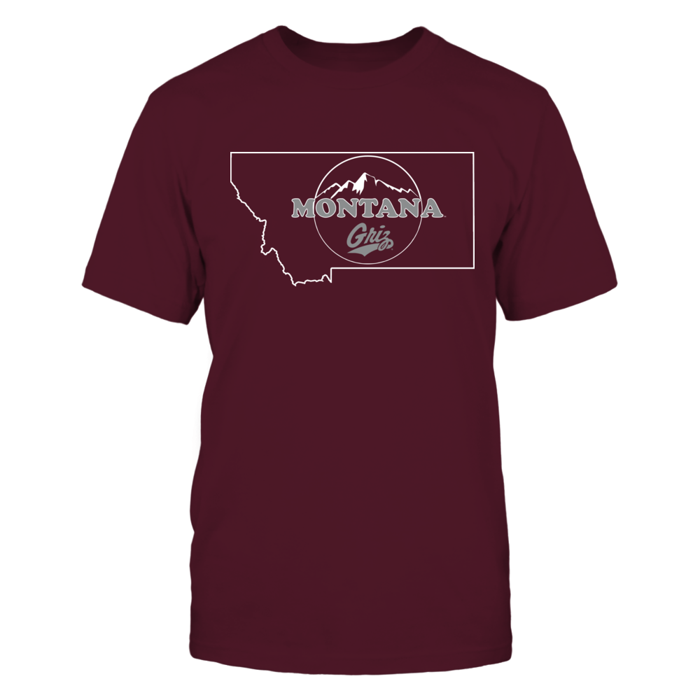 Montana Grizzlies - Montana State Sign Front picture