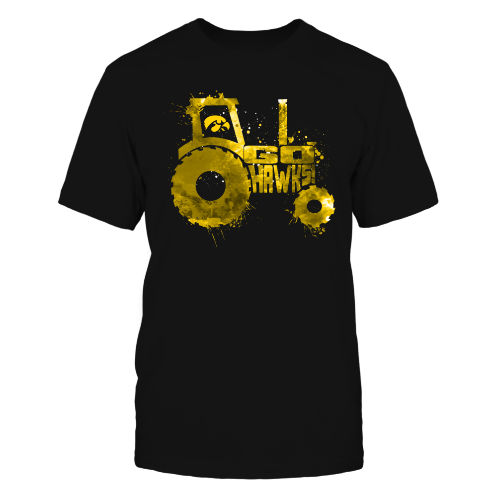 Iowa Hawkeyes - Farmer - Color Drop Slogan Inside Tractor Front picture