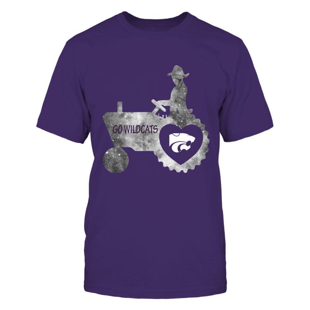 Kansas State Wildcats - Farmer - Galaxy Love Tractor Front picture