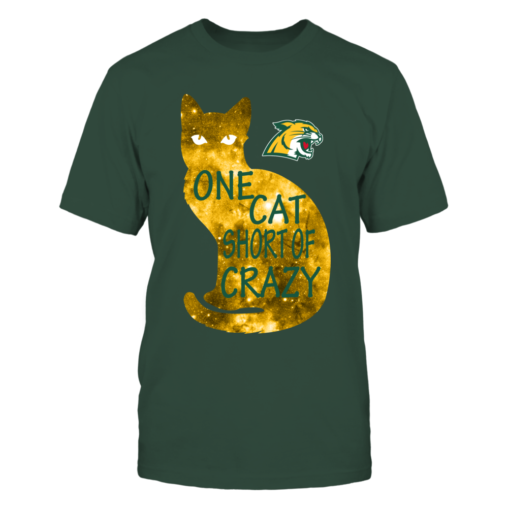 Northern Michigan Wildcats - One Cat Short Of Crazy Front picture