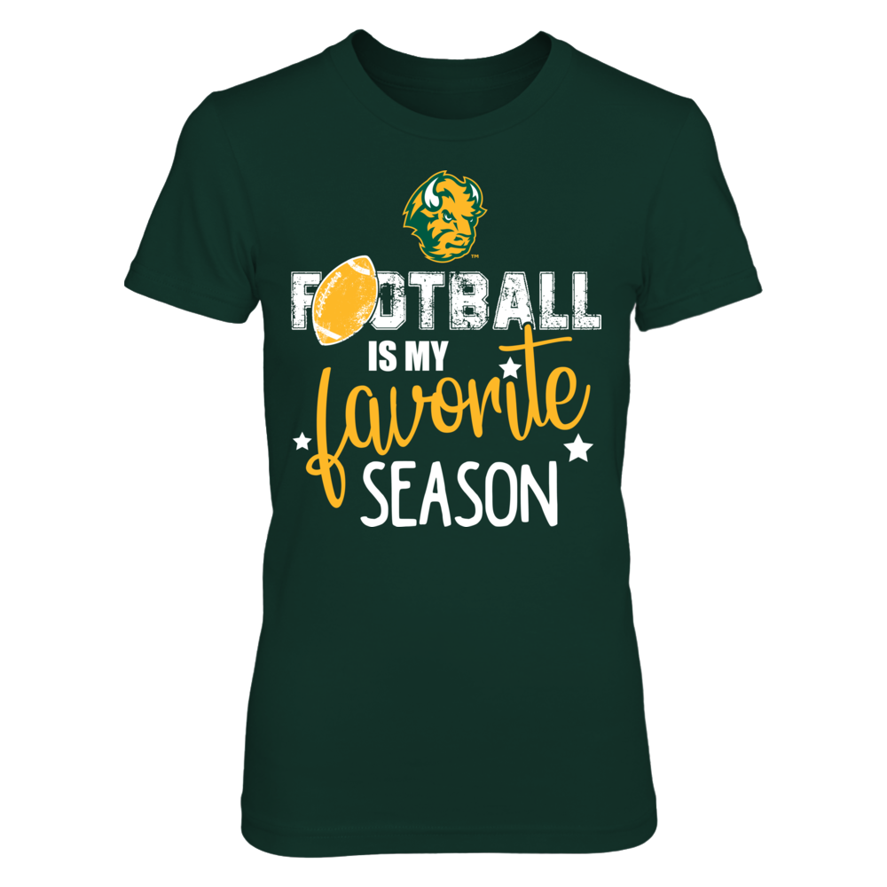 Football is My Favorite Season North Dakota State Bison T-Shirt | Tank Front picture
