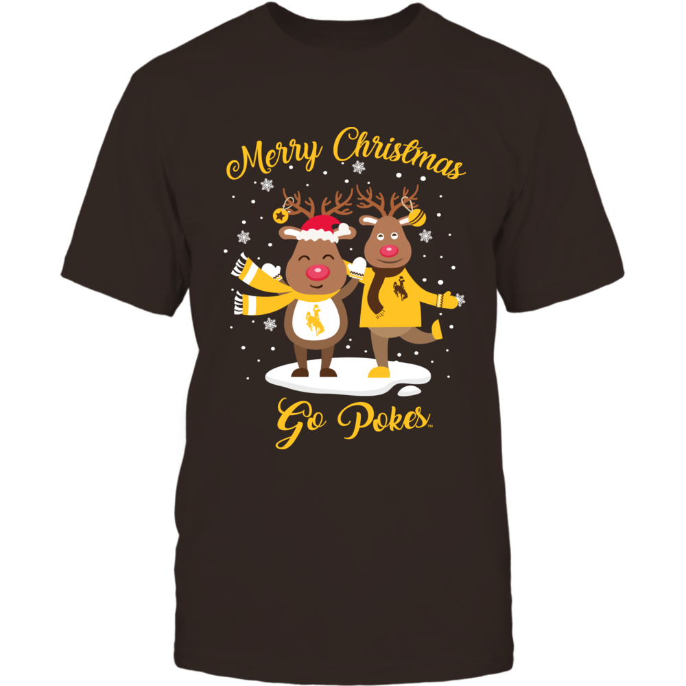 Wyoming Cowboys - Christmas - Merry Christmas Rudolphs Front picture