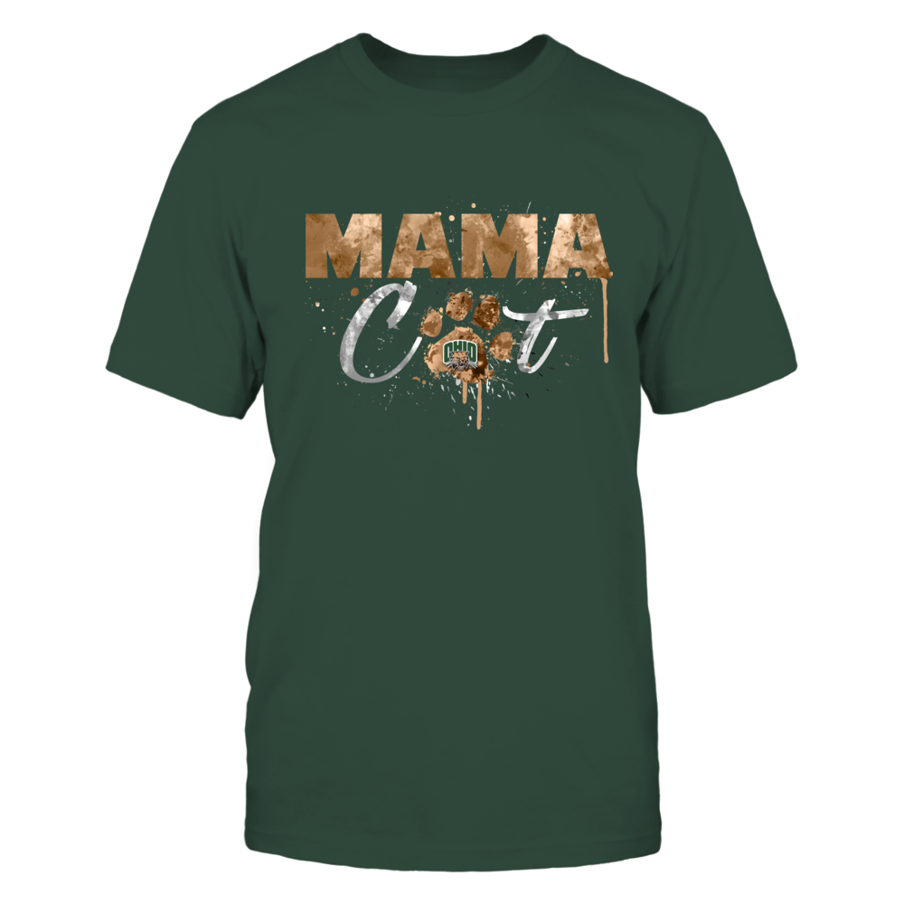 Ohio Bobcats - Color Drop Mama Cat - Paw Front picture