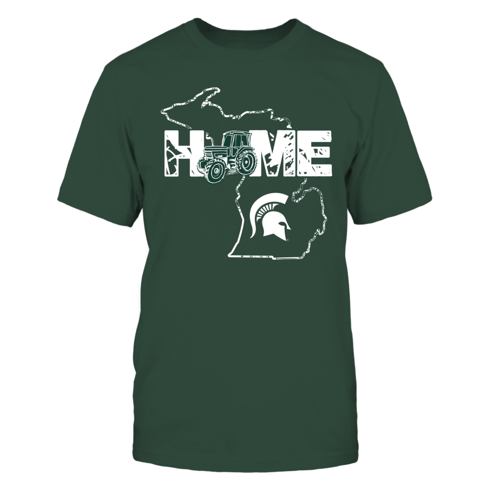 Michigan State Spartans - Farmer - Tractor Home Front picture