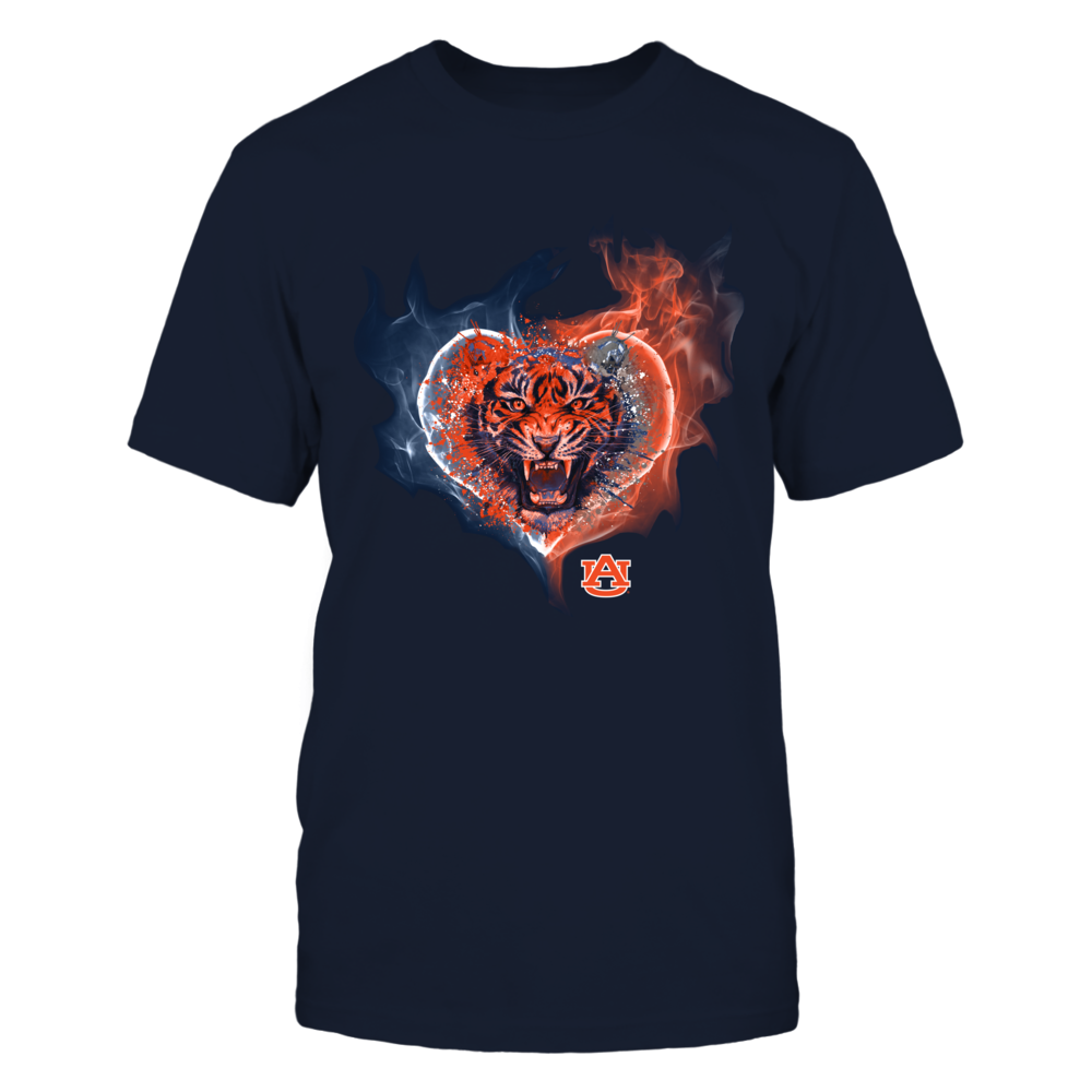 Auburn Tigers - Fire Heart Tiger Front picture