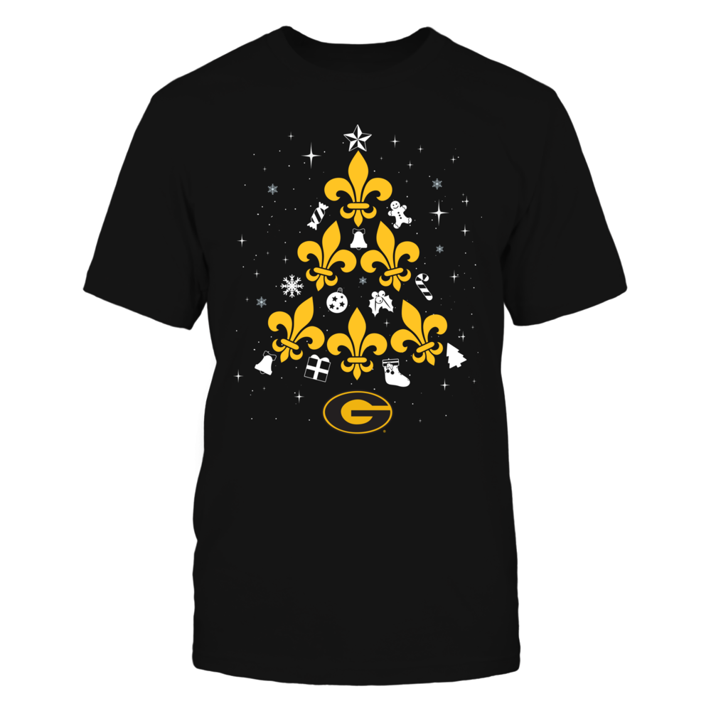 Grambling State Tigers - Fleur De Lis Christmas Tree Front picture