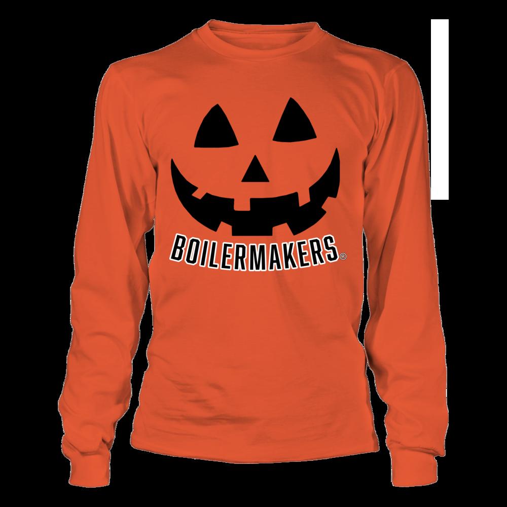 Purdue Boilermakers - Pumpkin Smile Version 2 Front picture