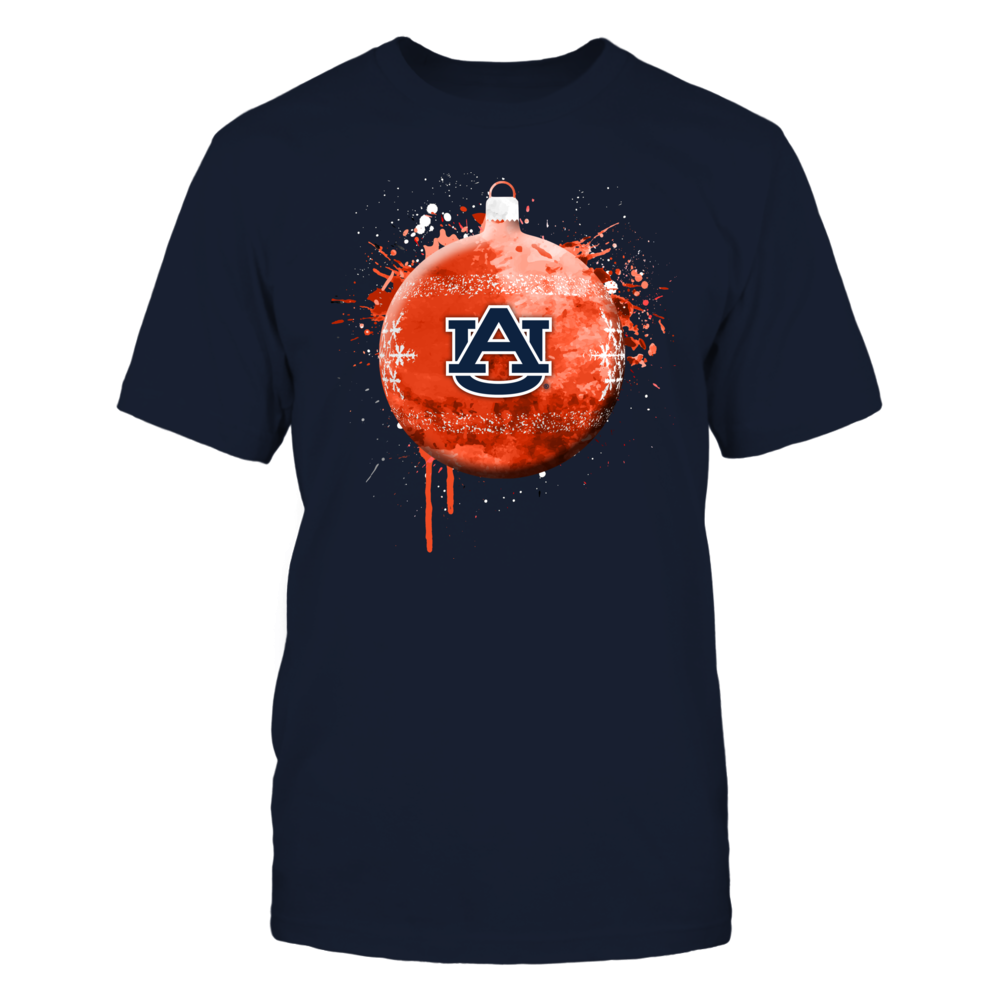 Auburn Tigers - Christmas - Christmas Bauble - Color Drop Front picture