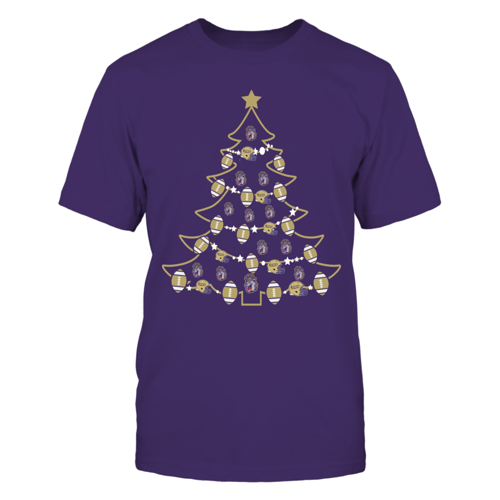 James Madison Dukes - Christmas - Football Xmas Tree Front picture