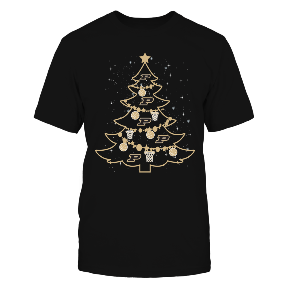 Purdue Boilermakers - Christmas - Basketball Xmas Tree Front picture