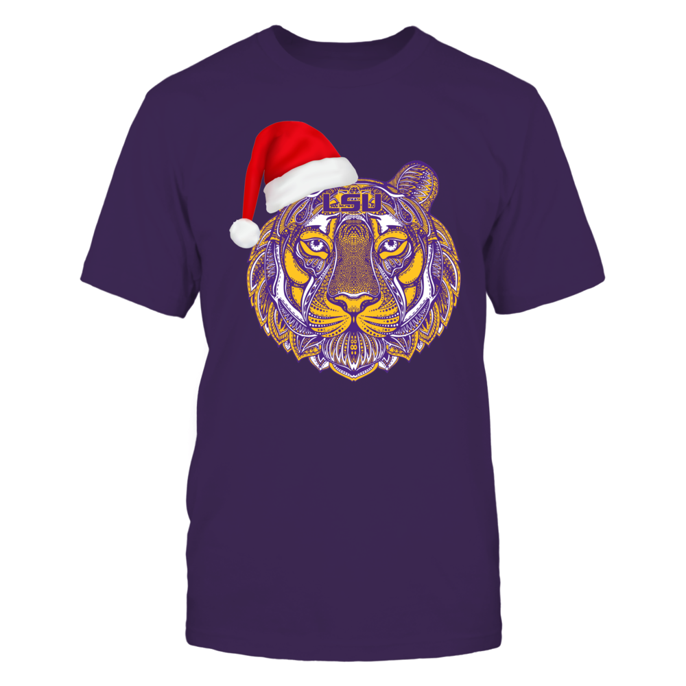 LSU Tigers - Christmas - Mandala Pattern Tiger Front picture