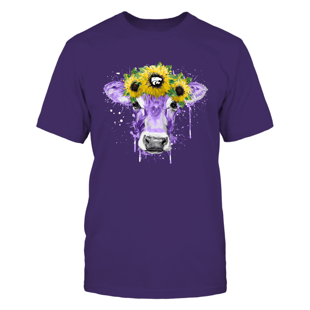 Kansas State Wildcats - Farmer - Color Drop Sunflower - Heifer Front picture