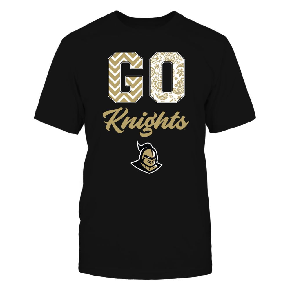 UCF Knights - Patterned Letters - Slogan Front picture